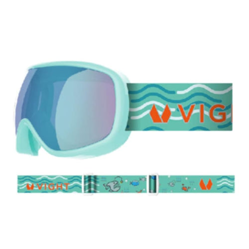 Goggles / Snow: VIGHT Pikko Snow Goggle - MINT P11005014 [Asian Fit for kids] - VIGHT / Free / MINT / 1819 1920 Accessories COSMOS Eyewear |