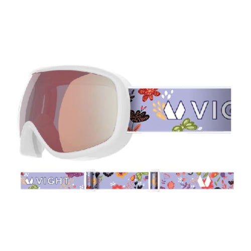 Goggles / Snow: VIGHT Pikko Snow Goggle - WHITE P11005013 [Asian Fit for kids] - VIGHT / Free / WHITE / 1819 1920 Accessories COSMOS Eyewear