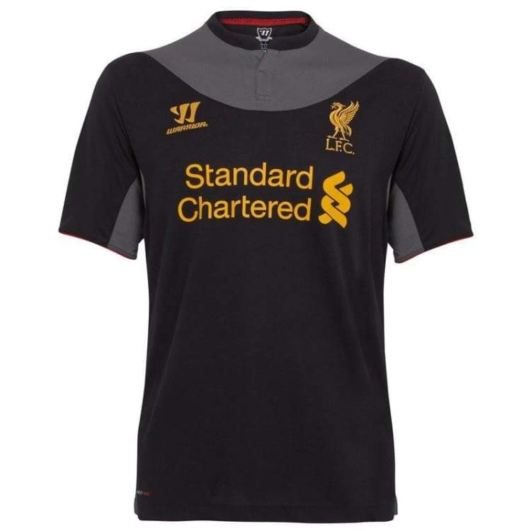 Jerseys / Soccer: Warrior Liverpool 12/13 (A) S/s Wstm204 - Warrior / S / Black / 1213 Away Kit Black Clothing Football |