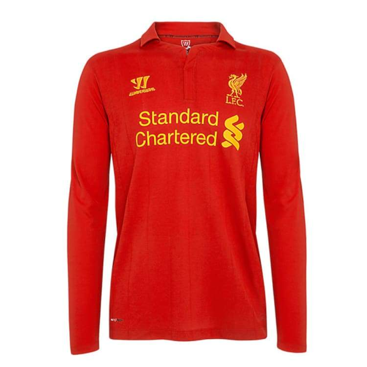 Jerseys / Soccer: Warrior Liverpool 12/13 (H) L/s Wstm201 - Warrior / S / Red / 1213 Clothing Football Home Kit Jerseys |