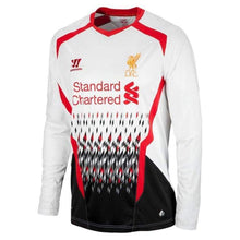 Jerseys / Soccer: Warrior Liverpool 13/14 (A) L/s Wstm305 - Warrior / S / White / 1314 Away Kit Clothing Football Jerseys |