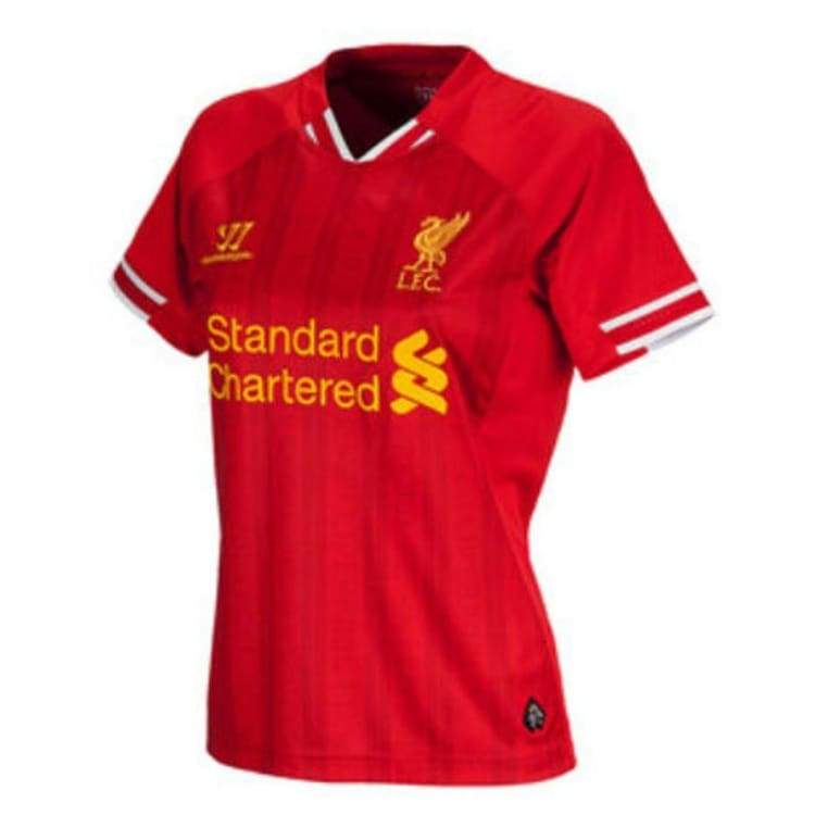 Jerseys / Soccer: Warrior Liverpool 13/14 (H) Women S/s Wstw303Hr - Warrior / M / Red / 1314 Clothing Football Home Kit Jerseys |