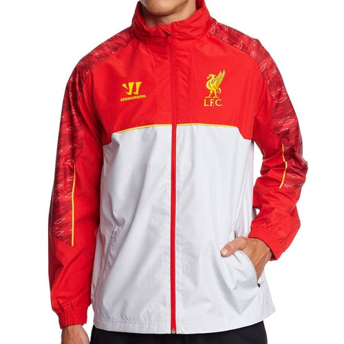 Jackets / Track: Warrior Liverpool 13/14 Training Rain Jacket Red WSJM350 - S / Red / Warrior / Clothing Football Jackets Jackets / Track