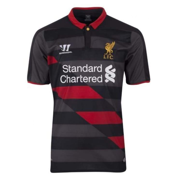 Jerseys / Soccer: Warrior Liverpool 14/15 (3Rd) S/s Wstm408Bk - Warrior / S / Black / 1415 Black Clothing Football Jerseys |