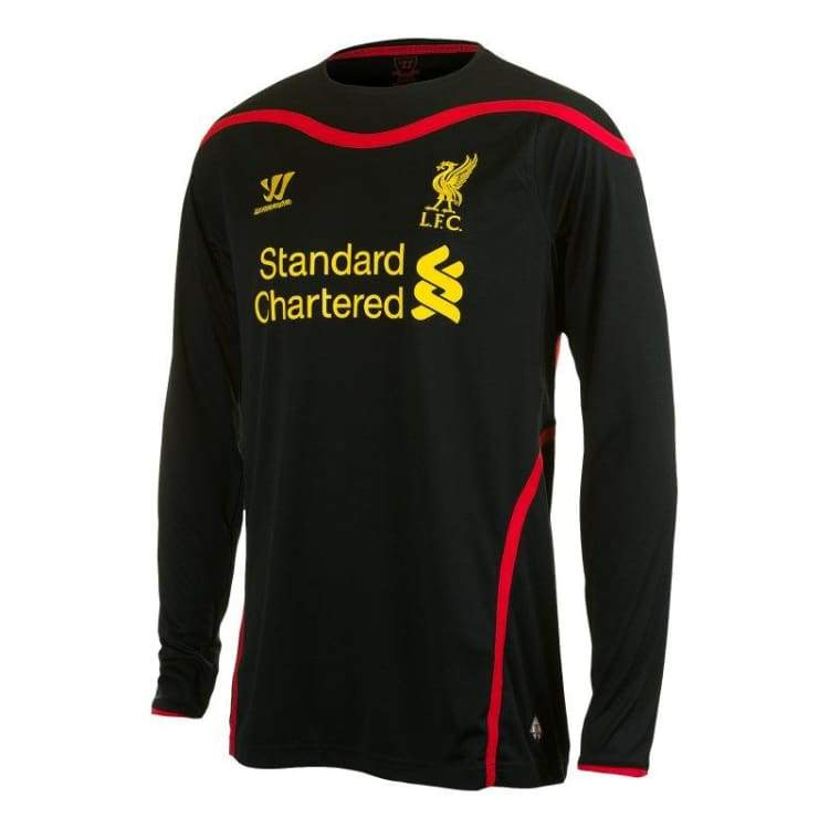 Jerseys / Soccer: Warrior Liverpool 14/15 (A) L/s Gk Wstm406 - Warrior / S / Black / 1415 Away Kit Black Clothing Football |