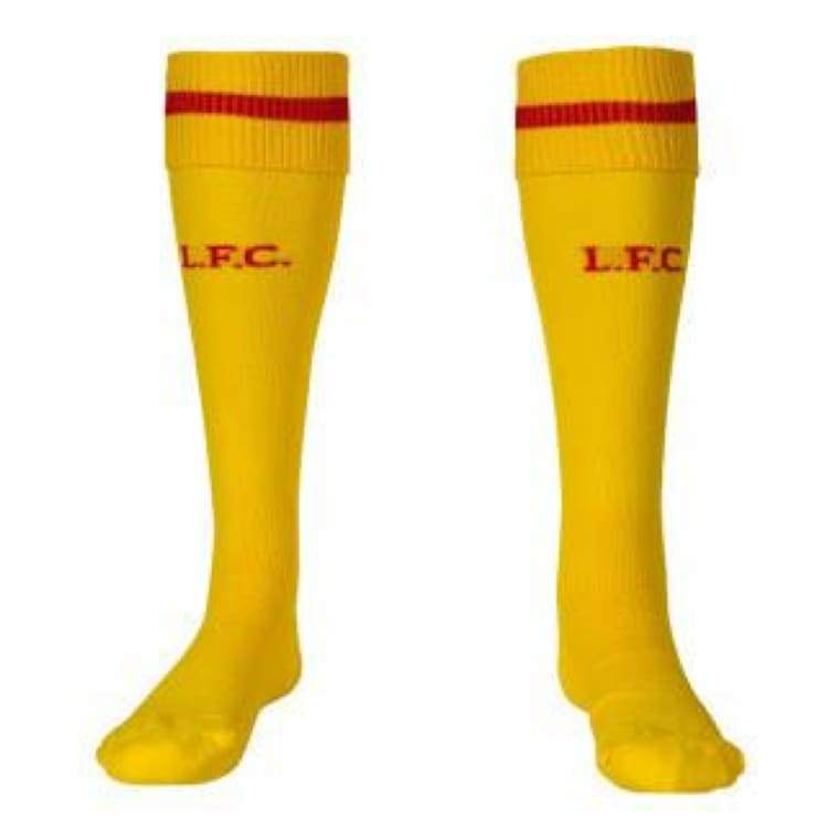 Socks / Soccer: Warrior Liverpool 14/15 (A) Socks Wsam402 - Warrior / L / Yellow / Accessories Away Kit Football Land Liverpool |