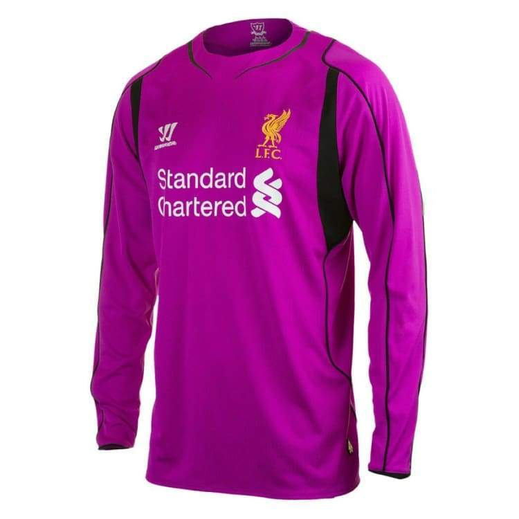 Jerseys / Soccer: Warrior Liverpool 14/15 (H) L/s Keeper Wstm402 - Warrior / S / Purple / 1415 Clothing Football Goalkeeper Home Kit |