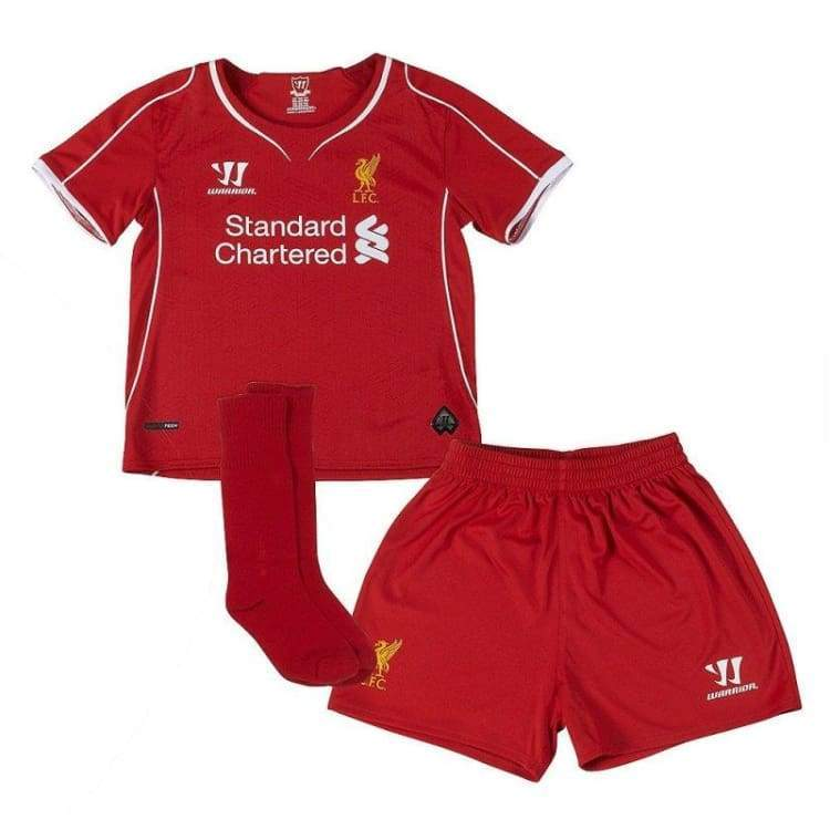 Jerseys / Soccer: Warrior Liverpool 14/15 (H) S/s Kids Wsti400 - Warrior / Month: 18-24 / Red / 1415 Clothing Football Home Kit Jerseys |
