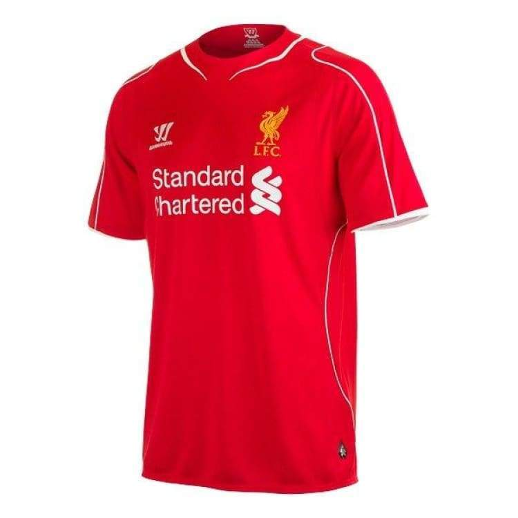 Jerseys / Soccer: Warrior Liverpool 14/15 (H) S/s Wstm400 - Warrior / S / Red / 1415 Clothing Football Home Kit Jerseys |