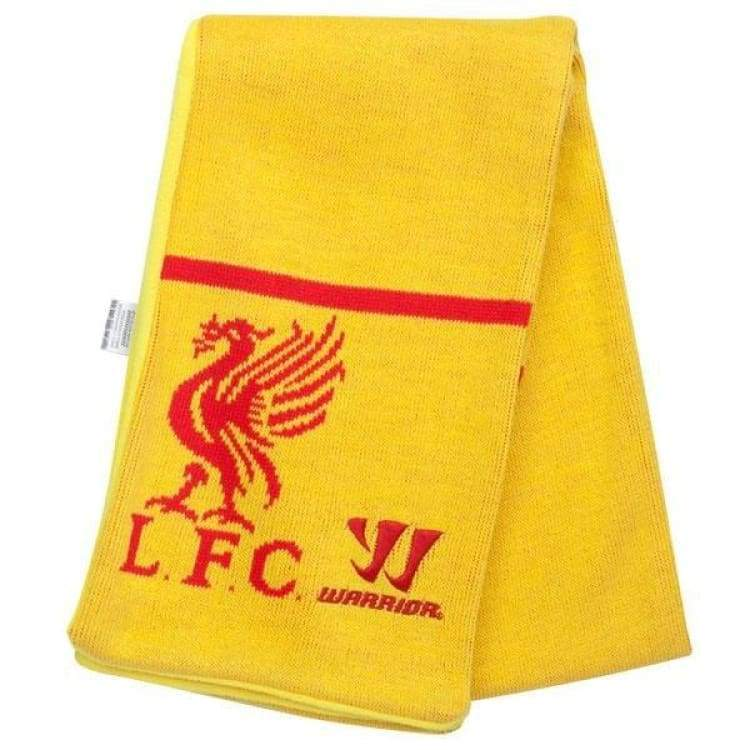 Neckwear / Scarves: Warrior Liverpool 14/15 Scarf Wsam415 - Warrior / Yellow / Accessories Fans Wear Football Head & Neck Wear Land |