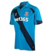 Jerseys / Soccer: Warrior Stoke City Fc 14/15 (A) S/s Wstm420 - 1415 Away Kit Blue Clothing Football