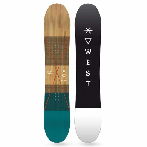 Snowboards: West Snowboarding Cpt Achab Snowboard [Backcountry Gun] 2019 - West Snowboarding / 158 / 1819 Freeride/powder Gear Ice & Snow On