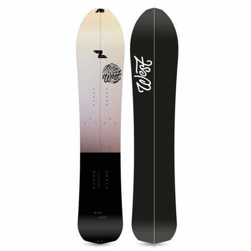 Snowboards: West Snowboarding Gramont Split Snowboard [Surf Vibes] 2019 - West Snowboarding / 157 / 1819 Freeride/powder Gear Ice & Snow On