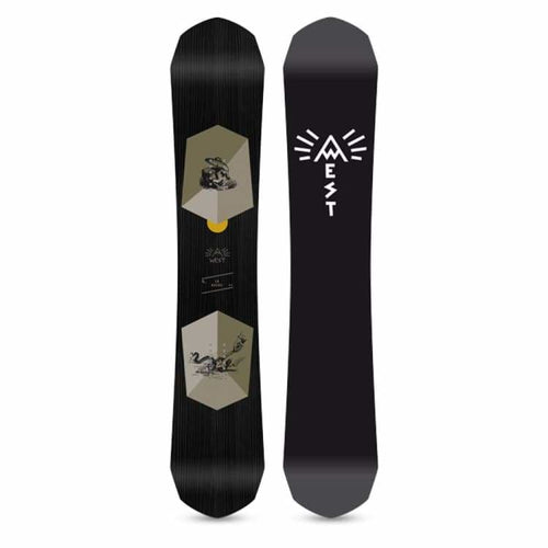 Snowboards: West Snowboarding La Hache Snowboard [Premium All Mountain] 2019 - West Snowboarding / 154 / 1819 All Mountain All Mountain