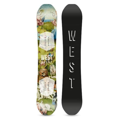 Snowboards: West Snowboarding Salaz Snowboard [Fun Performer] 2019 - West Snowboarding / 153 / 1819 Gear Ice & Snow Mens On Sale |