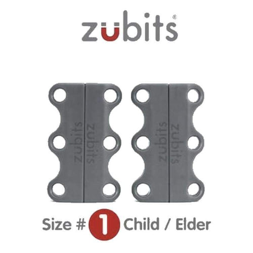 Shoes / Closure: Zubits Zu1Gry - Grey [Child /elder / Some Adults] - Zubits / Grey / 1 / Accessories Fitness & Exercise Footwear Golf Grey |