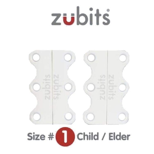 Shoes / Closure: Zubits Zu1Wht - White [Child /elder / Some Adults] - Zubits / White / 1 / Accessories Fitness & Exercise Footwear Golf Kids