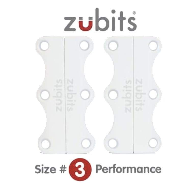 Shoes / Closure: Zubits Zu3Wht - White [Large Adult / Sport] - Zubits / White / 3 / Accessories Fitness & Exercise Footwear Golf Kids |