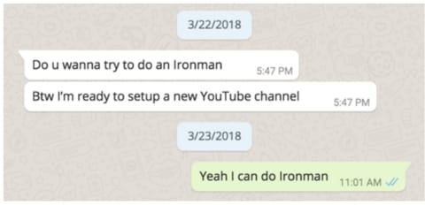 The Journey to Ironman (1) - How it all started. by G. Kent Iu