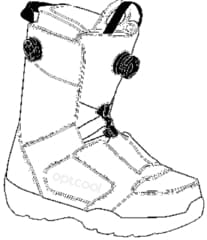 SNOWBOARD BOOT Lacing Systems