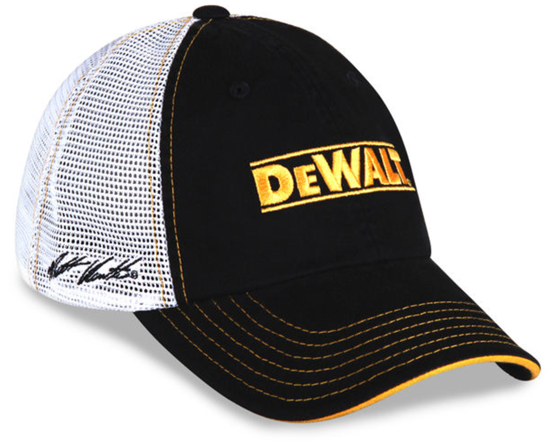 53d34bf06f225 NO 20 MATT KENSETH JOE GIBBS RACING DEWALT CAP - Shop Motorsport