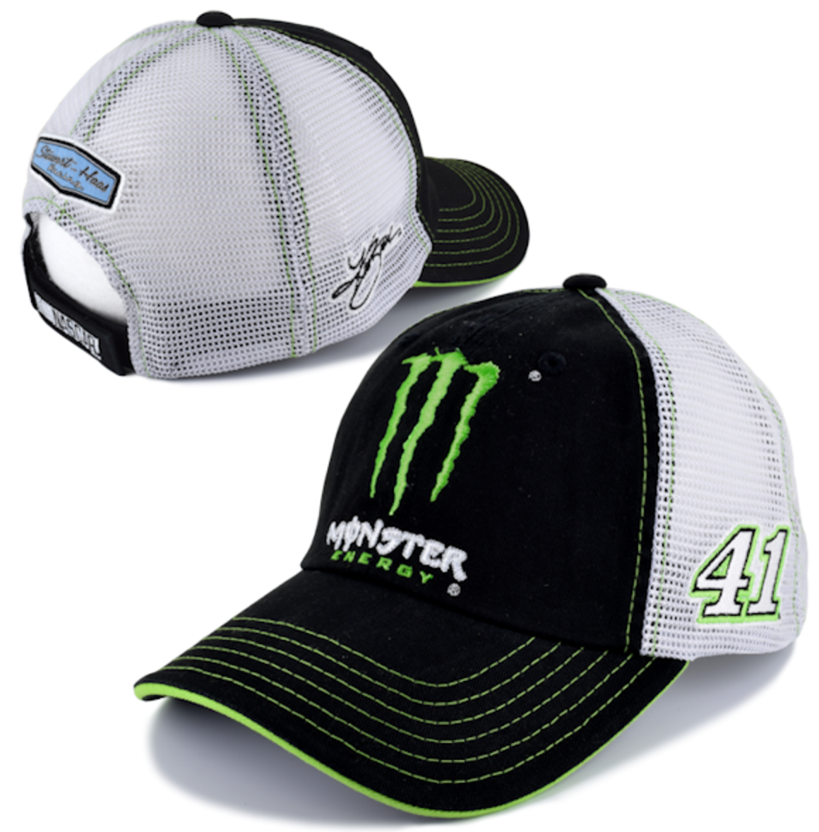 NO 41 KURT BUSCH MONSTER ENERGY CAP - Shop Motorsport 5f25d55397e