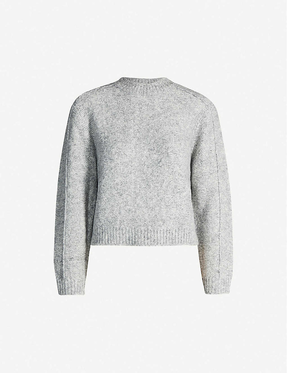 Lark marl-pattern knitted jumper