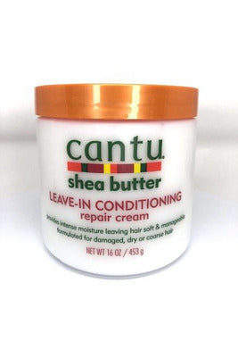 Cantu Leave-In Conditioning Repair Cream, Shea Butter - 16 fl oz