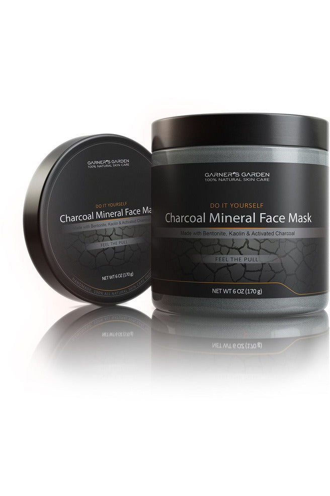 DIY Mineral Charcoal Face Mask - (6 oz)