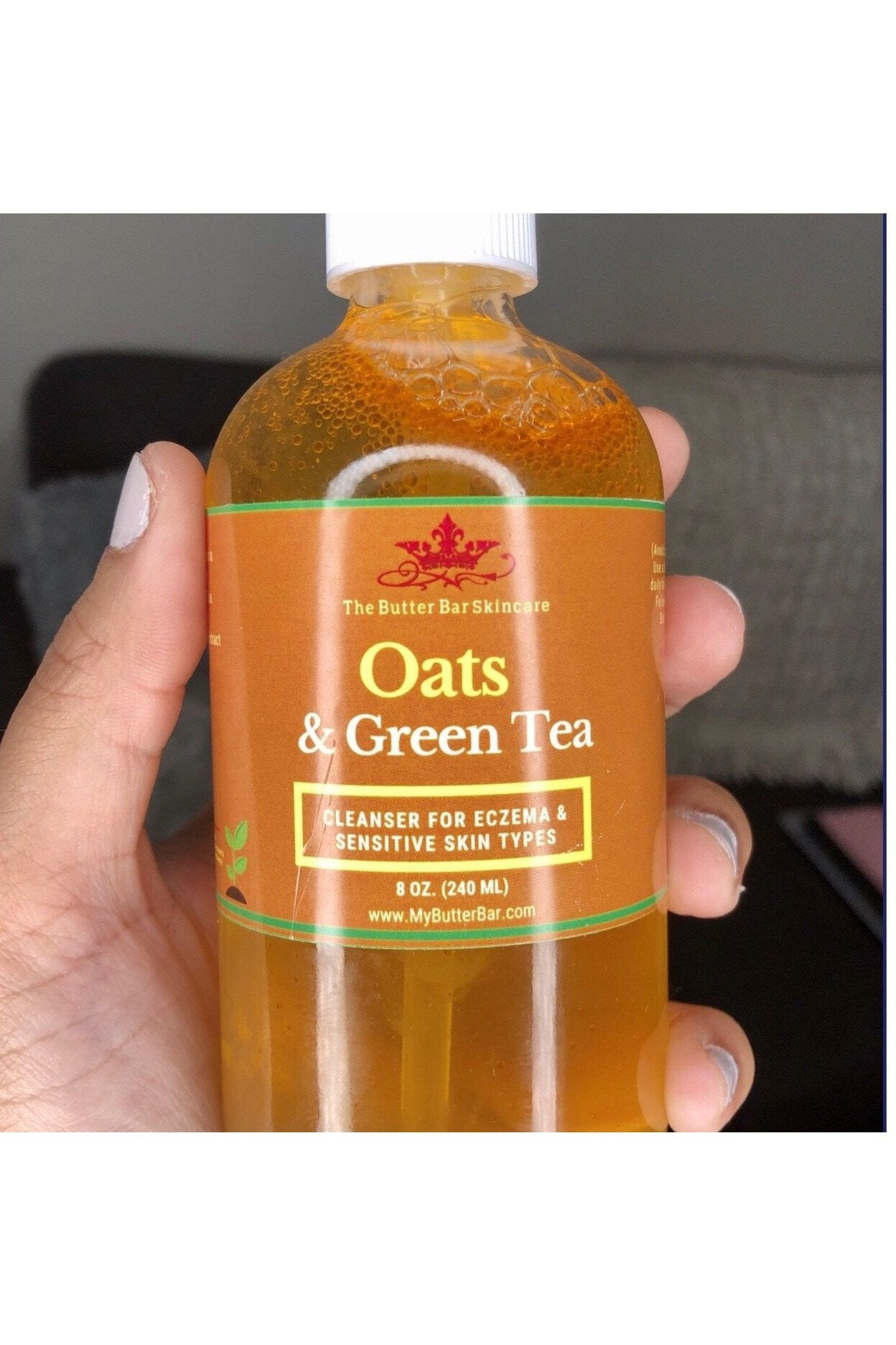 Oats & Green Tea Cleanser (Eczema & Sensitive Skin Types)