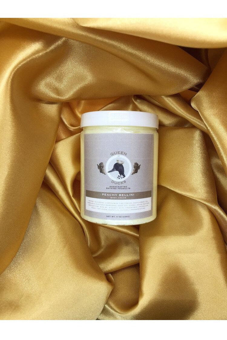 Queen Of Ducks Body Cream- Peach Bellini