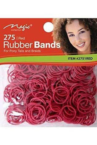 Magic - 300 PCS Rubber Band Black/Red