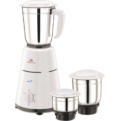 Bajaj GX-1 Mixer Grinder with 3 Jar (500-Watt)