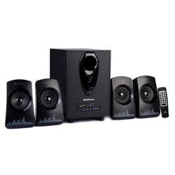 Zebronics - Feel   4.1 Multimedia Speakers