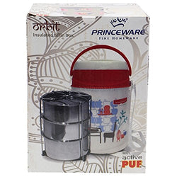Princeware Orbit 3 Deck Tiffin Box