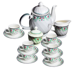 Bharat- Kareena Tea Set (17 Pcs)