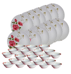 Crockeryplanet Melamine Dinning Set of 36 Pcs.