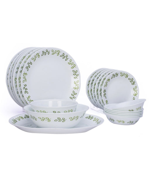 Corelle- Neo Leaf dinner set