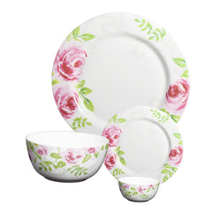 CROCKERYPLANET Fine Bone China Dinner Set of 20 Pcs.