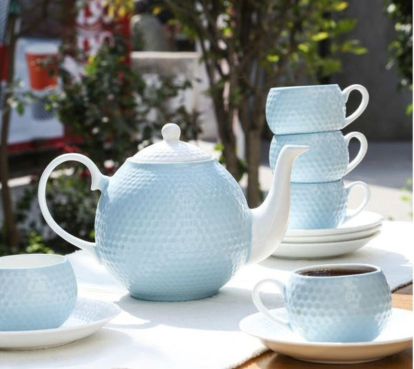 Sanjeev kapoor Ice Blue Tea Set