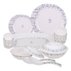 Blue Fantasy Round 31pcs milton dinner set