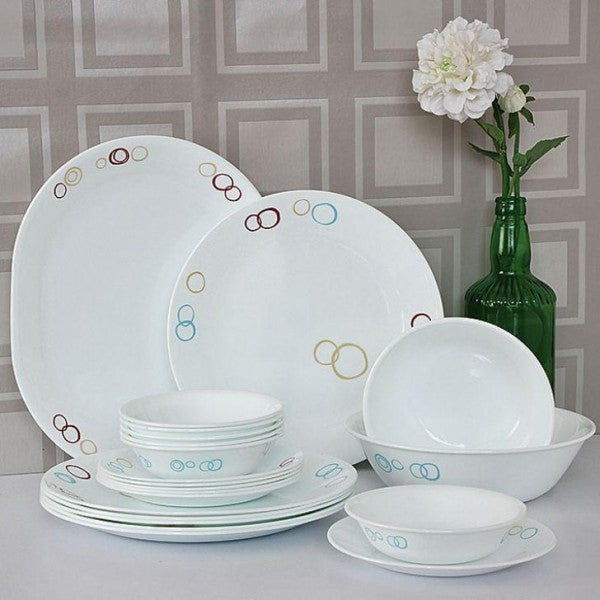 Corelle- Circles dinner set