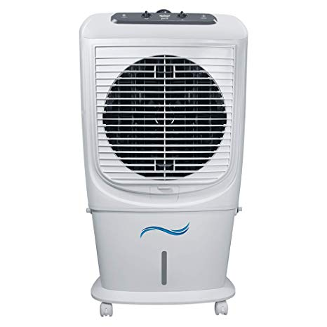 Maharaja Whiteline GLACIO 55-Litre Air Cooler (White and Grey)