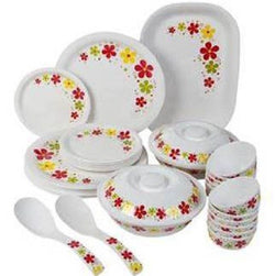 Spring Round 31pcs milton dinner set