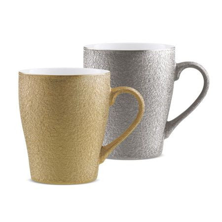 Treo Cupid Mug Set of 2 Pcs .(1 Gold+1 Silver)