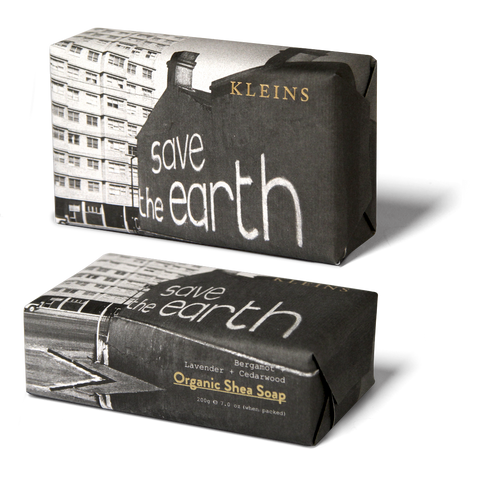 Save the Earth Organic Shea Soap - 200g