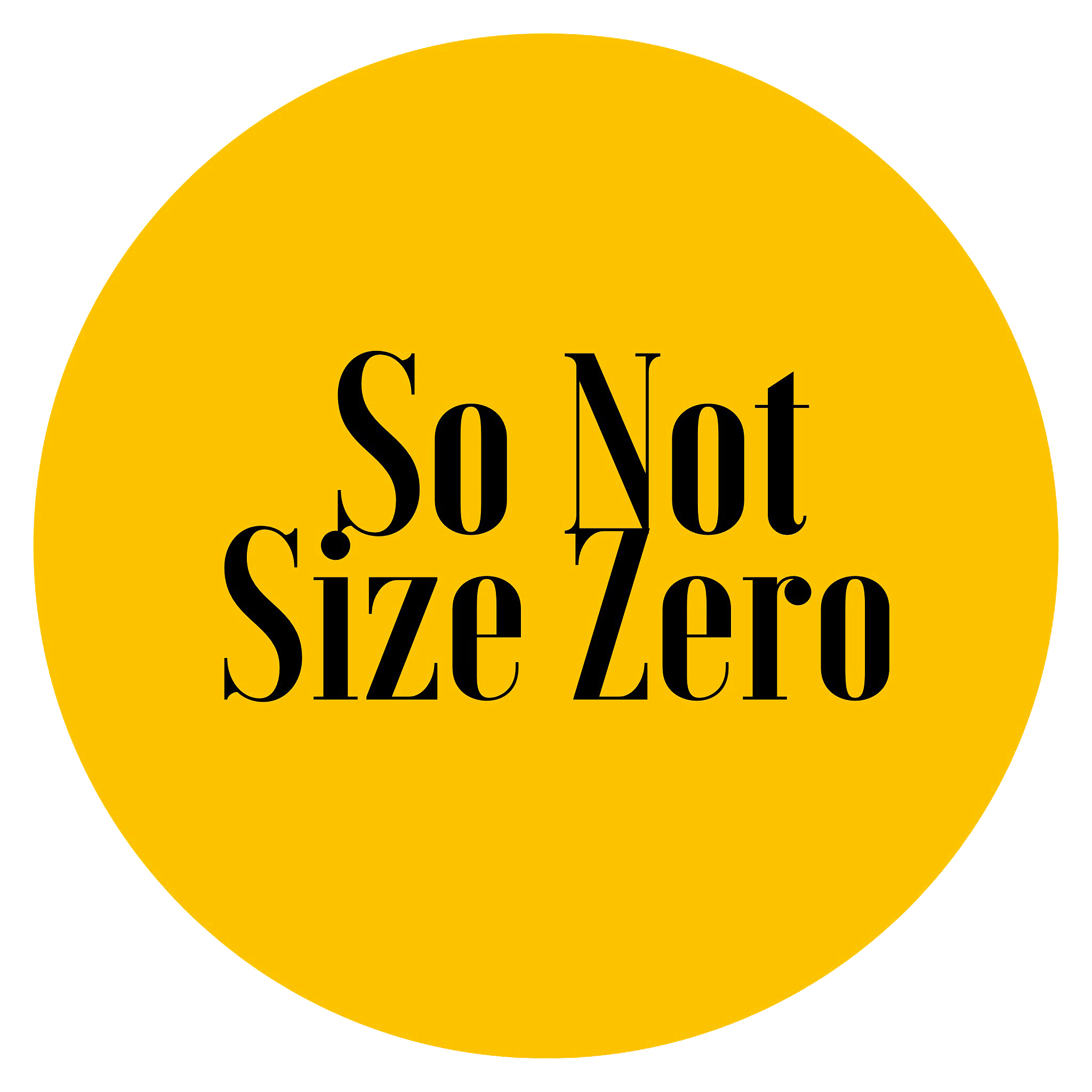 So Not Size Zero