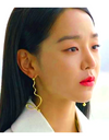 Angels Last Mission: Love Shin Hye-sun Inspired Earrings 015 - Earrings