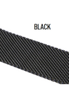 Apple Watch Weaved Strap for iWatch 1 / 2 / 3 / 4 - Black / 38 mm - Smartwatch Strap
