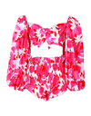Beach Please Two Piece Outfit - Rose Red / L - Two Piece